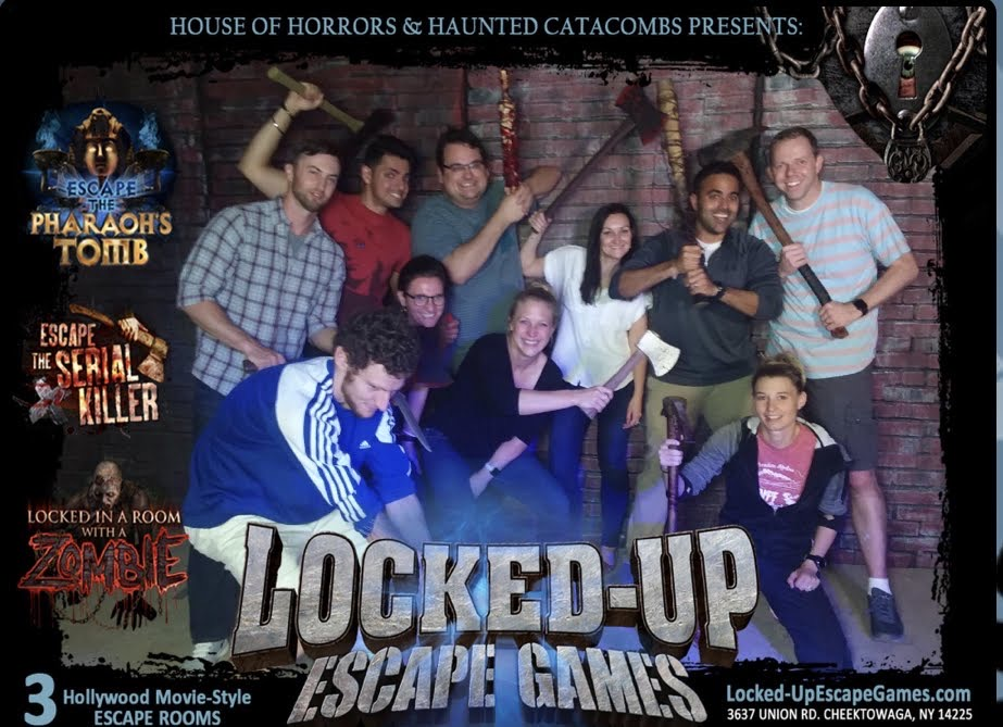 Survived the Halloween escape room!